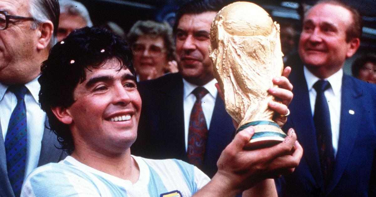 مارادونا در جام جهانی 1986 مکزیک