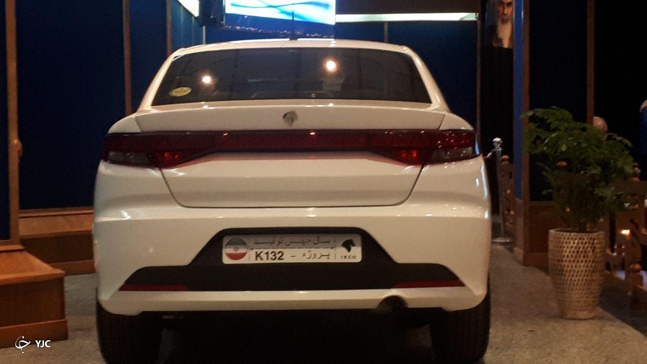 خودرو K132 محصول جدید ایران خودرو