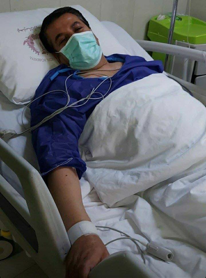 علی نامداری حامی مالی استقلال در بیمارستان بستری شد