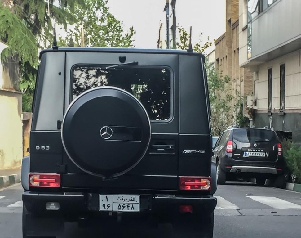 مرسدس بنز G کلاس ایران