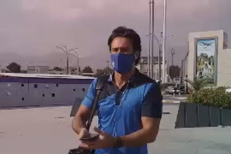 فرهاد مجیدی با ماسک