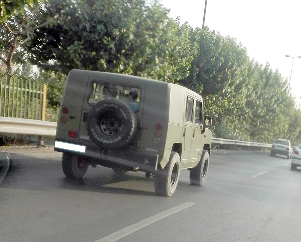 خودروی چینی ارتش