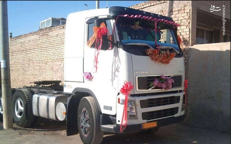 کامیون ماشین عروس
