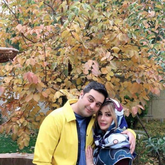 ساگرد ازدواج نیوشا ضیغمی و همسرش آرش پولادخان