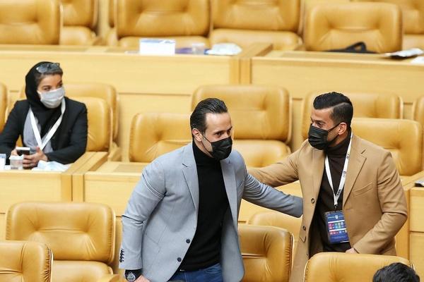 احسان حاج صفی به علی کریمی رای نداد