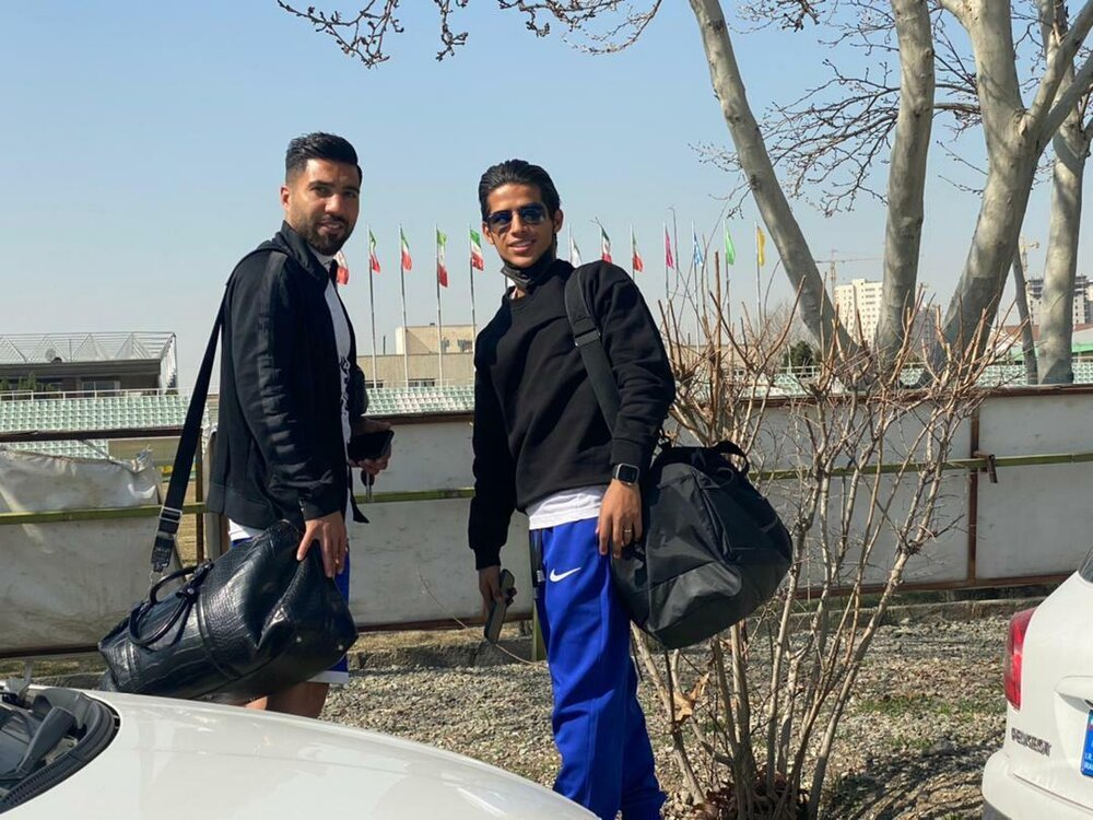 مهدی قایدی به تمرین استقلال برگشت