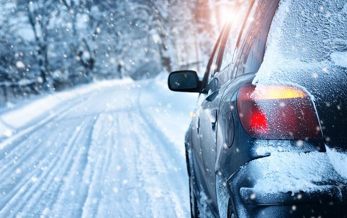 رانندگی روی برف