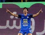 شادی گل ضد کرونایی 2 بازیکن استقلال در تمرین