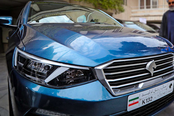 طرح های اولین کراس اوور ایران خودرو با نام K125