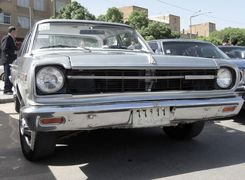 خط تولید خودرو آریا در ایران