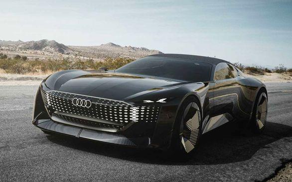 آئودی اسکای اسفر   تغییر سایز خودرو با یک دکمه