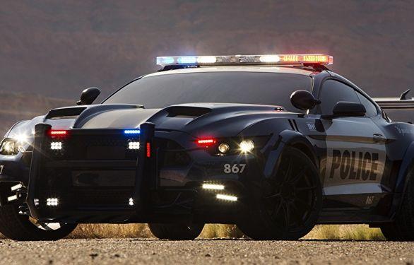 خرید فورد موستانگ توسط پلیس با پول جریمه! (عکس)