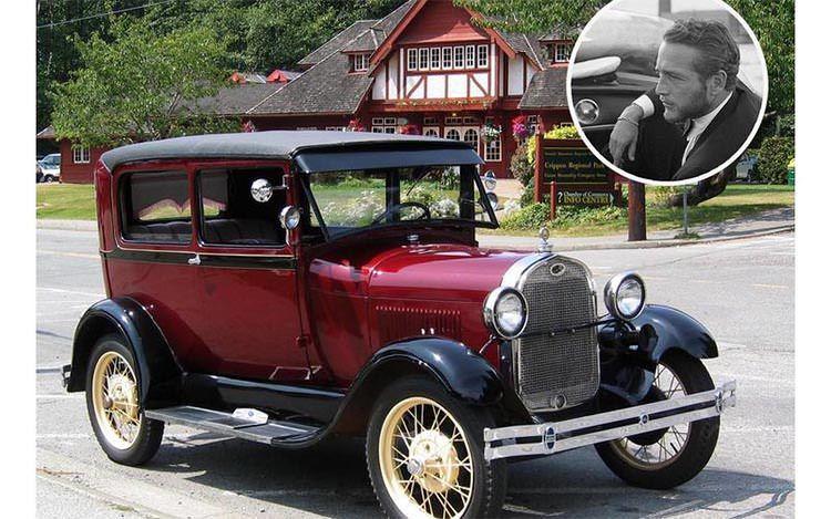 Paul Newman - Ford Model A