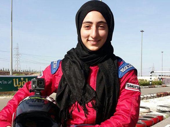 موفقیت دختر کارتینگ سوار ایرانی در مسابقات انگلیس