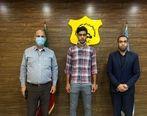 عکس   مدافع استقلال تیم جدیدش را شناخت