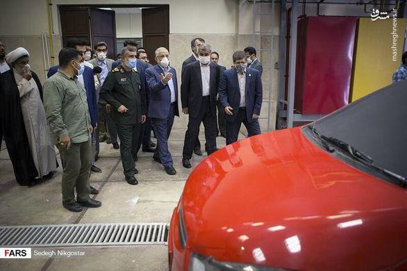 تاکید بر حمایت بی چشم داشت سپاه از صنعت خودرو