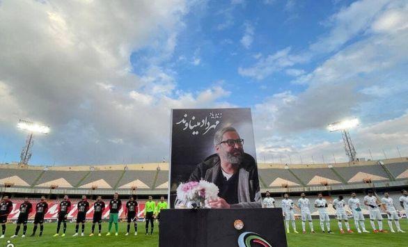 عکس| اشکهای یحیی گلمحمدی برای مهرداد میناوند در استادیوم آزادی