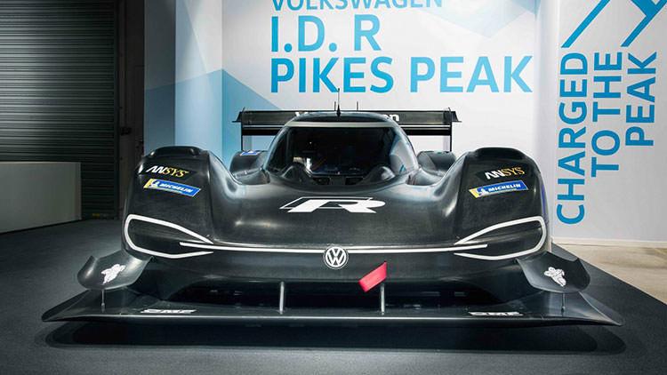 خودروی الکتریکی فولکسواگن I.D پایکس پیک / VolksWagen I.D. R Pikes Peak