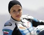 عکس | بانوی قهرمان موتور ریس ایران وارد صنعت مدلینگ شد