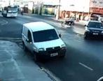 عاقبت تلخ تک چرخ زدن جلو اتوبوس