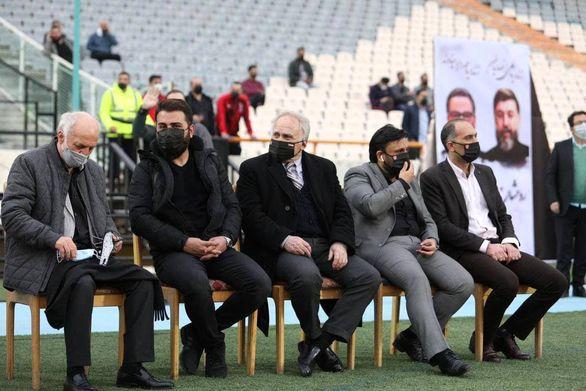 اسطوره های فوتبال ایران در یک قاب