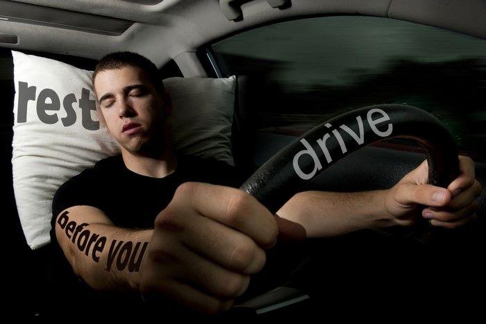 staying awake while driving