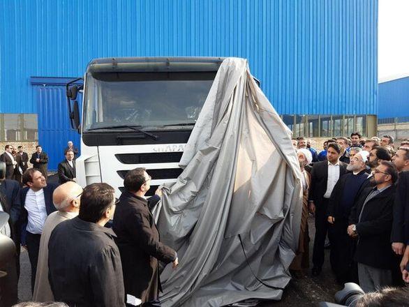 ابهام درباره تولید اولین کامیون ایرانی