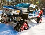 مدل برف رو پیکاپ جی ام سی Sierra تولید شد