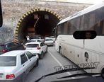 ترافیک سنگین در ۷۰ کیلومتری مهران + عکس