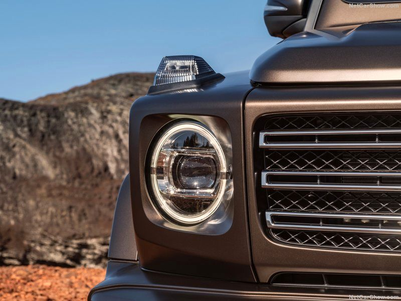 مدل جدید خودرو آفرود معروف بنز را ببینید