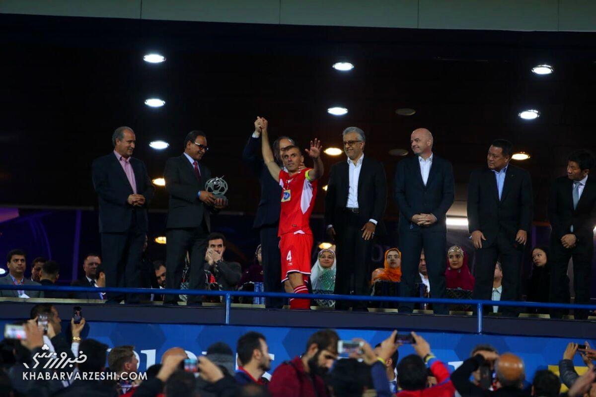 جانی اینفانتینو در فینال لیگ قهرمانان آسیا 2018
