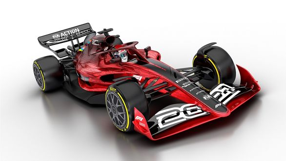 اولین تصاویر خودروی فرمول یک فصل 2022