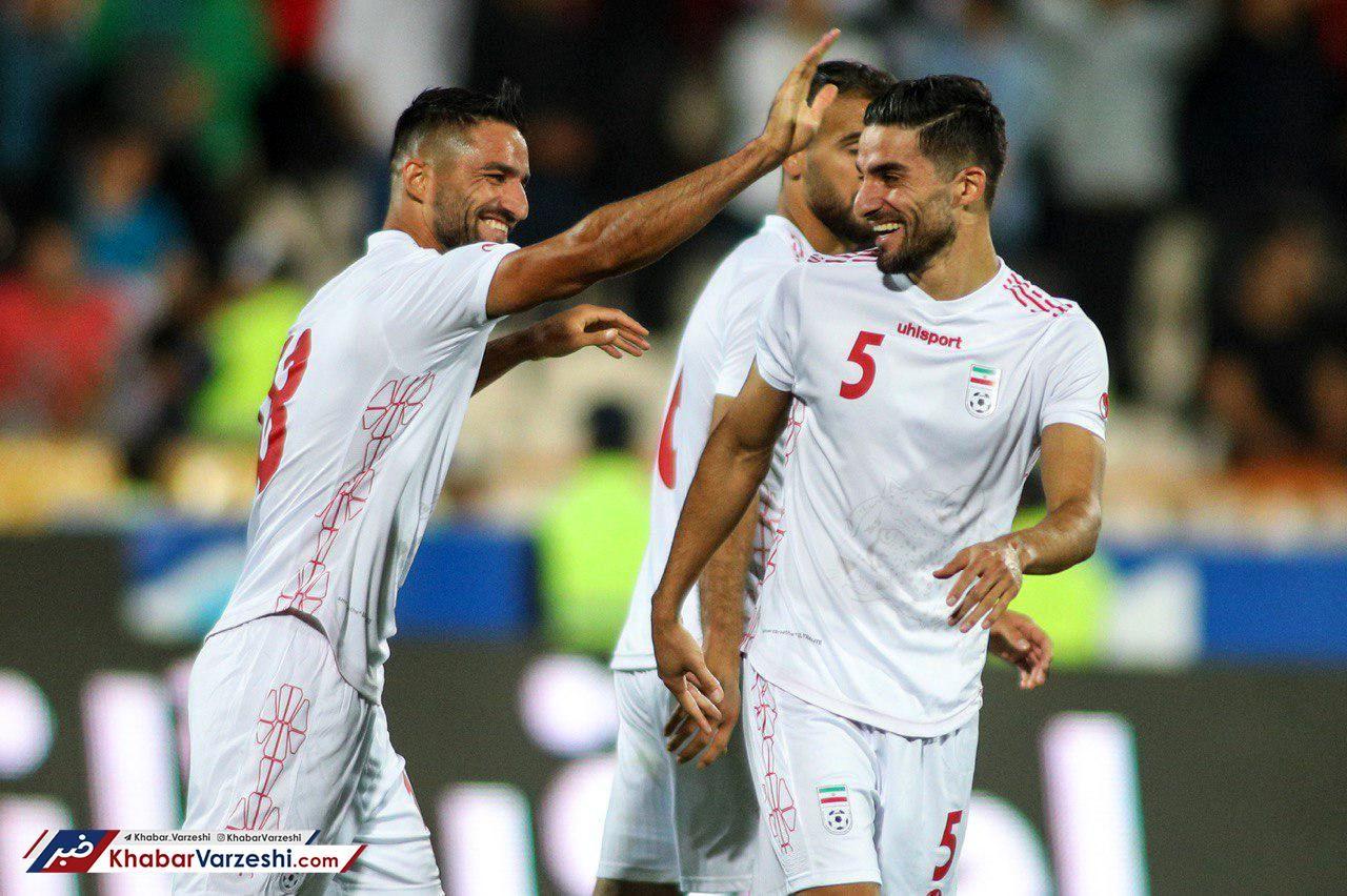 عکس| اولین حضور دوقلوها در ترکیب تیم ملی