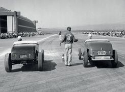 مسابقه درگ 70 ساله شد | تصاویر