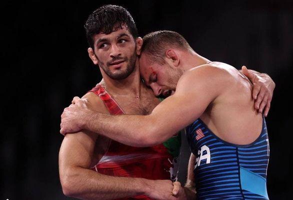ساعت مبارزه حسن یزدانی و دیوید تیلور در فینال 86 کیلوگرم مسابقات جهانی کشتی نروژ