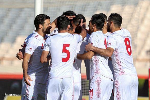 کنعانی زادگان و اجرای شادی گل معروفش در بازی تیم ملی + عکس