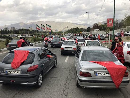 محدودیت تردد در مسیرهای منتهی به ورزشگاه آزادی