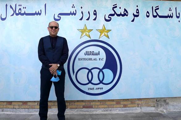 عکس| واکنش مدیرعامل استقلال به بازگشت مجیدی