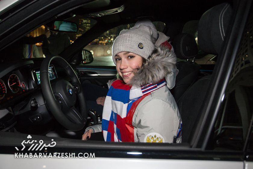 تصاویر| رونمایی از خودروهای لوکس اهدایی پوتین به ورزشکاران المپیکی