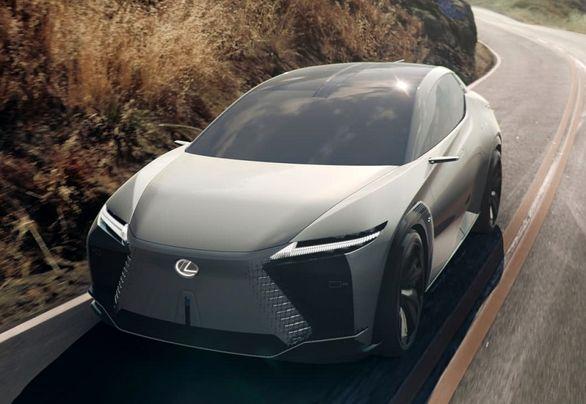 لکسوس LF-Z | خیز بلند برای خودروهای برقی اشرافی