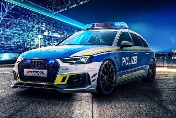 خودروی اسپرت جدید پلیس آلمان