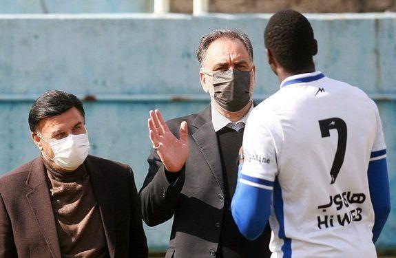 خبری که با حضور احمد مددی در تمرین استقلال افشا شد