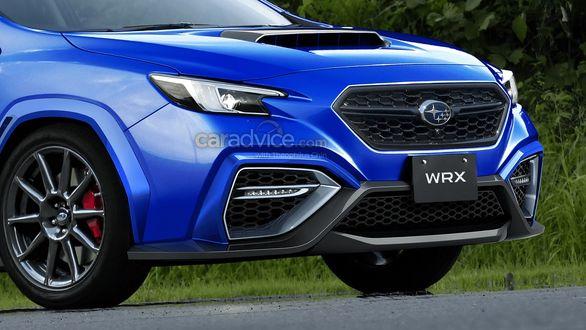 اولین عکس از سوبارو WRX مدل 2022 منتشر شد