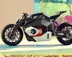 موتورسیکلت برقی و مفهومی ب ام و برای آینده