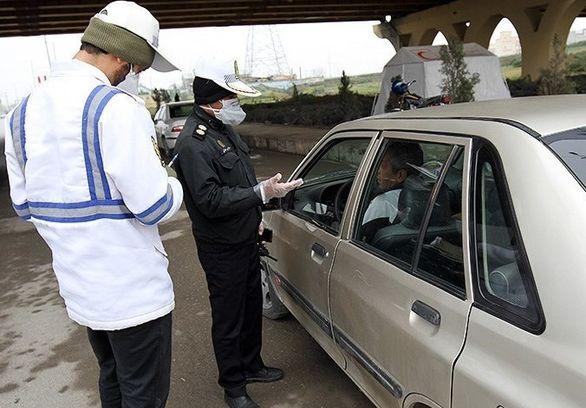 250 دستگاه خودرو در مبادی تهران جریمه شدند