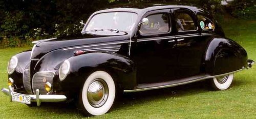 لینکلن زفر مدل 1938 با موتور 12 سیلندر