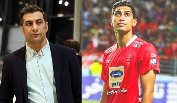 محمد نادری: تا ابد پرسپولیسی میمانم