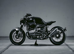 تیونینگ  روی نسخه سفارشی موتورسیکلت ب ام و