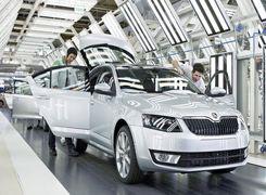 کاهش 53 درصدی تولید خودرو در جمهوری چک