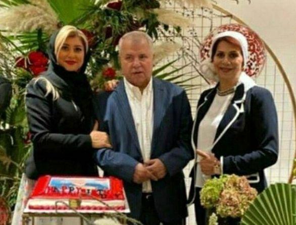 خواننده محبوب استقلالی در جشن تولد علی پروین (عکس)